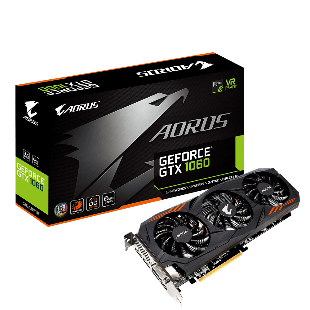 AORUS GeForce® GTX 1060 6G