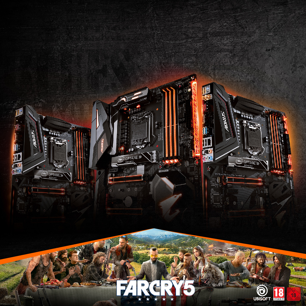 Find 7 and get a free game – AORUS FarCry 5 bundle promotion
